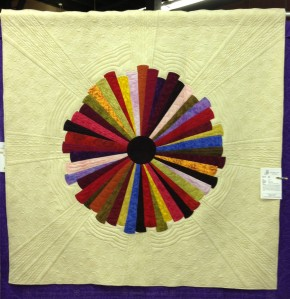 Starburst at NW Quilters Show 2013