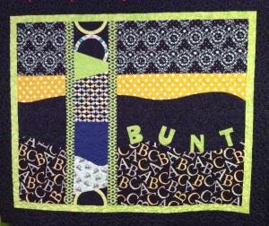 Bunt's Quilt - Sept 2014