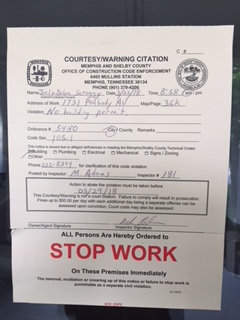 a Stop Work Order